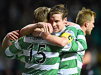 08/03/15 SCOTTISH PREMIERSHIP <br /> CELTIC V PARTICK THISTLE <br /> CELTIC PARK - GLASGOW<br /> Celtic's Kris Commons (15) celebrates after scoring his goal with team mate Stefan Johansem