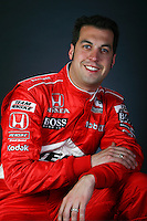 Sam Hornish Jr., portrait shoot, Homestead Miami Speedway, Homestead, FL USA 2/20/07