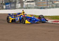 March 9, 2019 - St. Petersburg, FL, U.S. - ST. PETERSBURG, FL - MARCH 09: Andretti Autosport driver Alexander Rossi (27) of United States during the NTT IndyCar Series - Firestone Grand Prix Qualifying on March 9 in St. Petersburg, FL. (Photo by Andrew Bershaw/Icon Sportswire) (Credit Image: © Andrew Bershaw/Icon SMI via ZUMA Press)