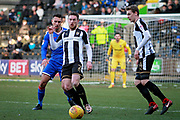 Notts County's Matt Tootle(2) during the EFL Sky Bet League 2 match between Notts County and Stevenage at Meadow Lane, Nottingham, England on 24 February 2018. Picture by Nigel Cole.