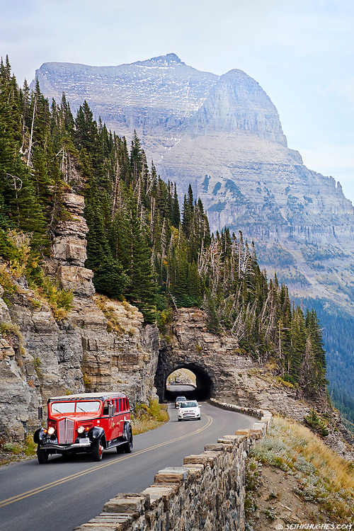 Going to the Sun Road, Glacier National Park, Montana