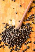 Belo Horizonte_MG, Brasil.<br /> <br /> Detalhe de graos de cafe.<br /> <br /> Detail of coffee beans.<br /> <br /> Foto: BRUNO MAGALHAES / NITRO
