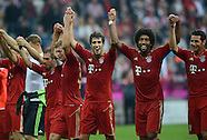 Fussball Bundesliga 2012/13: FC Bayern Muenchen - VFB Stuttgart