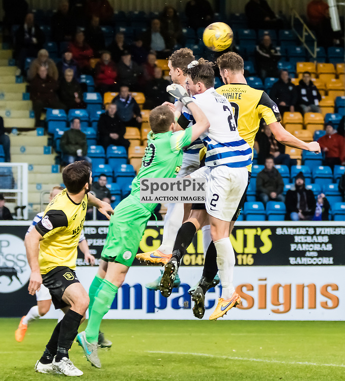 during the Greenock Morton FC V Livingston FC Ladbrokes Scottish Championship game played at Cappielow Park, Greenock on 7th November 2015; (c) BERNIE CLARK | SportPix.org.uk