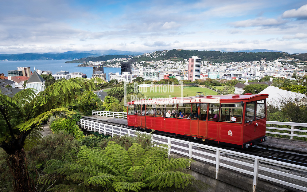 The iconic Wellington Cable Car