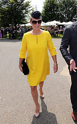 Zara Phillips arriving at Ladies Day at Glorious Goodwood in the UK  Thursday, 1st August 2013<br /> Picture by Stephen Lock / i-Images<br /> File photo - Zara Phillips has given birth to a baby girl<br /> Zara Phillips has given birth to a baby girl at Gloucestershire Royal Hospital.<br /> Her husband and former England rugby player Mike Tindall was present at the birth.<br /> The weight of the baby was 7lbs 12oz, Buckingham Palace announced today.<br /> <br /> Picture filed Friday, 17th January 2014