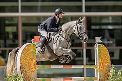 Moerings Bas, NED, Kivinia<br /> Nationaal Kampioenschap KWPN<br /> 5 jarigen springen final<br /> Stal Tops - Valkenswaard 2020<br /> © Hippo Foto - Dirk Caremans<br /> 19/08/2020