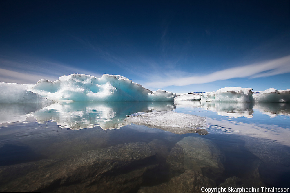 The Glacier Lagoon, south Iceland