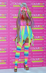 Image ©Licensed to i-Images Picture Agency. 04/06/2014. <br /> <br /> Pregnant Katie Price aka Jordan attends a photocall at The Worx Studios, Parsons Green,  London, UK.<br /> <br /> Picture by Ben Stevens / i-Images
