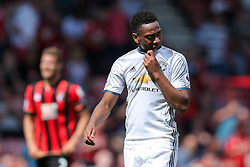 Anthony Martial of Manchester United looks on at half time - Rogan Thomson/JMP - 14/08/2016 - FOOTBALL - Vitality Stadium - Bournemouth, England - Bournemouth v Manchester United - Premier League Opening Weekend.