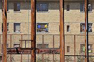 """Casa circondariale di Rebibbia, sezione penale in occasione della manifestazione sportiva """"Vivicittà"""" organizzata dalla UISP - Rebibbia detention center penal section during the sporting event """"Vivicittà"""" organized by UISP."""