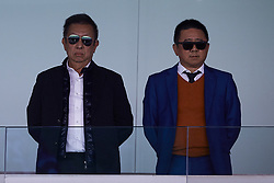 April 29, 2018 - Valencia, Valencia, Spain - Owner of Valencia CF Peter Lim (L) and Executive Director of Valencia CF Koh Kim Huat look on prior to the La Liga game between Valencia CF and SD Eibar at Mestalla on April 29, 2018 in Valencia, Spain  (Credit Image: © David Aliaga/NurPhoto via ZUMA Press)