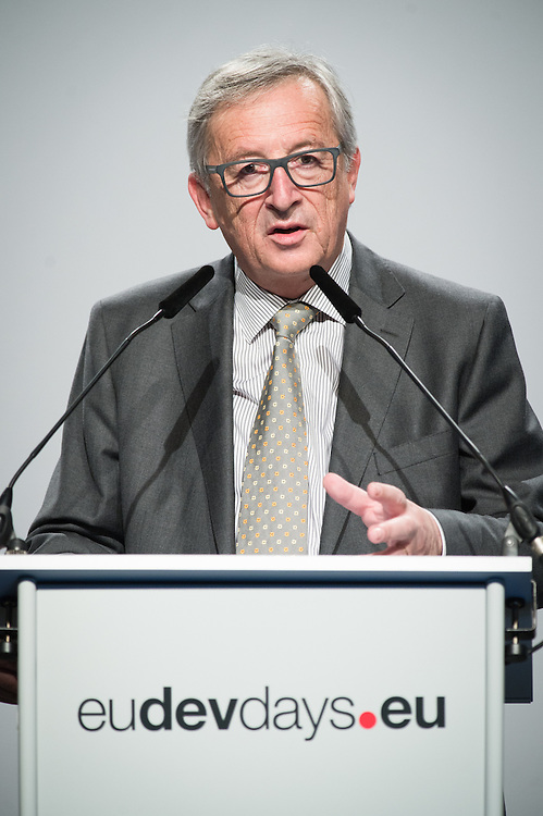 03 June 2015 - Belgium - Brussels - European Development Days - EDD - Opening Ceremony - Our World , our dignity , our future - Jean Claude Juncker , President of the European Commission © European Union