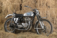 Old British MX bikes