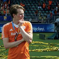 DEN HAAG - Rabobank Hockey World Cup<br /> 38 Final: Australia - Netherlands<br /> Australia wins and is World Champion.<br /> Foto: Seve van Ass.<br /> COPYRIGHT FRANK UIJLENBROEK FFU PRESS AGENCY