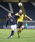 Carlo Monti and Jason Talbot - Dundee v Livingston,  SPFL Championship at Dens Park<br /> <br />  - &copy; David Young - www.davidyoungphoto.co.uk - email: davidyoungphoto@gmail.com