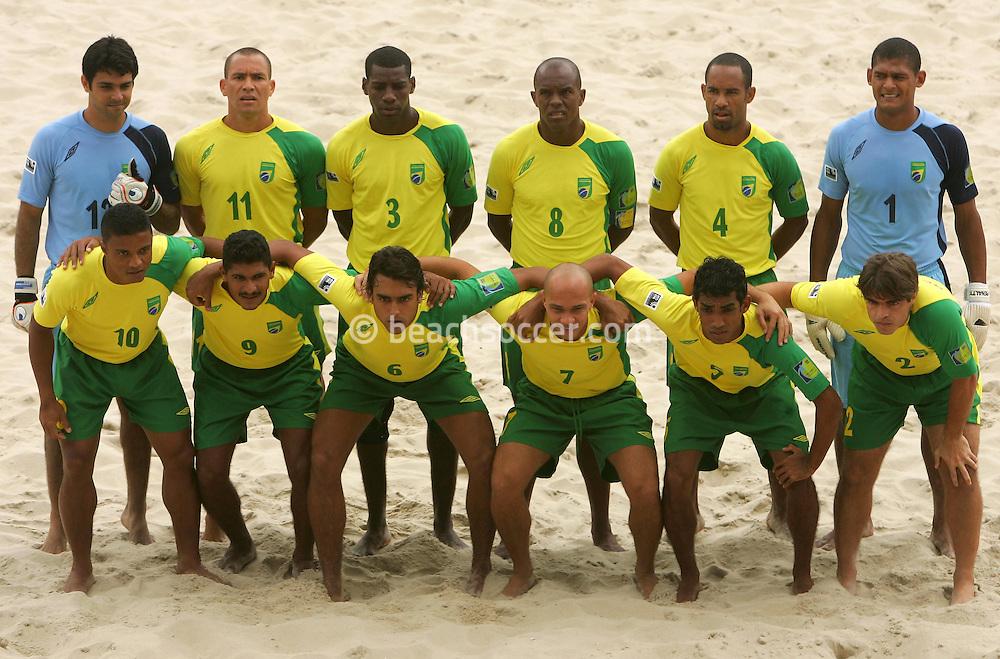 Football-FIFA Beach Soccer World Cup 2006 - Group A- Brazil - USA, Beachsoccer World Cup 2006. Brasilian's once team - Rio de Janeiro - Brazil 07/11/2006. Mandatory credit: FIFA/ Manuel Queimadelos