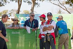 Luis Alvarez Cervera, Raphael Soto, Luis Lucio<br /> Training session<br /> Olympic Games Rio 2016<br /> © Hippo Foto - Dirk Caremans<br /> 13/08/16
