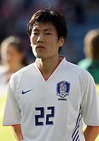 Fotball / Football<br /> Privatlandskamp / Friendly match<br /> Norge v Sør-Korea 0-0<br /> Norway v Korea Republic 0-0<br /> 01.06.2006<br /> Foto: Morten Olsen, Digitalsport<br /> <br /> Chong-Gug Song