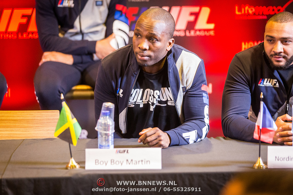 NLD/Almere/20171028 - Weging + staredown Spike presents: WFL - Final 16, BoyBoy Martin