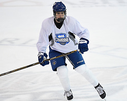 Finn Brown of the Toronto Marlboros at the 2018 OHL Development Combine at the Tribute Communities Centre in Oshawa on Sunday March 25, 2018. Photo by Aaron Bell/OHL Images