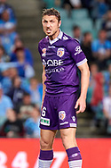 April 29, 2017: A frustrated Perth Glory Dino DJULBIC (6) at Semi Final one of the 2016/17 Hyundai A-League match, between Sydney FC and Perth Glory, played at Allianz Stadium in Sydney.
