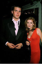 MR ANTHONY DE ROTHSCHILD son of banker Sir Evelyn De Rothschild, and actress ISLA FISHER who stars in Home & Away, at a reception in London on 7th June 1997.LZA 157
