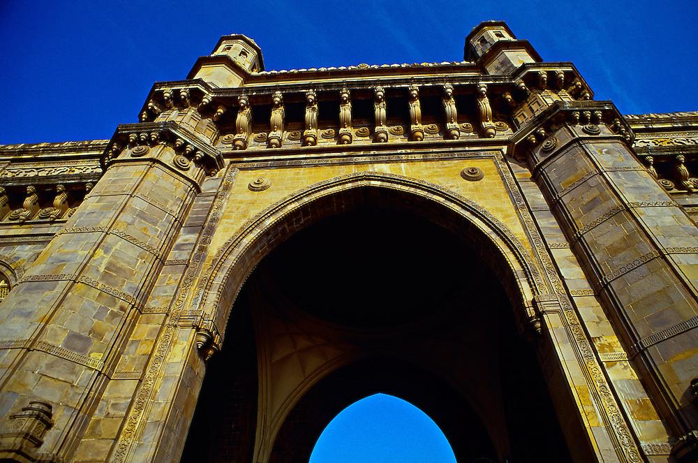 Gateway to India arch, Mumbai (Bombay), Maharashtra, India
