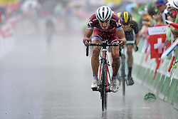 June 16, 2017 - Locarno / La Punt, Schweiz - SPILAK Simon (SLO) Rider of Team Katusha - Alpecin during stage 6 of the Tour de Suisse cycling race, a stage of 166 kms between Locarno and La Punt on June 15, 2017 in La Punt, Switserland, 15/06/2017  (EQ Images) SWITZERLAND ONLY (Credit Image: © Vincent Kalut/EQ Images via ZUMA Press)