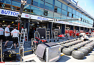 Grand Prix d'Australie de formule 1..Melbourne 24 mars 2010..Illustration paddock..Photo: Stéphane Mantey/ L'Equipe
