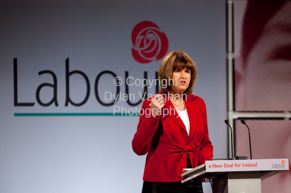 29/11/2008.Joan Burton TD Labour Spokesperson on Finance pictured at the Labour Party conference at Hotel Kilkenny over the weekend..Picture Dylan Vaughan.