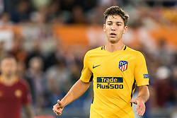 Luciano Vietto of Club Atletico de Madrid during the UEFA Champions League group C match match between AS Roma and Atletico Madrid on September 12, 2017 at the Stadio Olimpico in Rome, Italy.