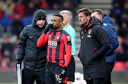"AFC Bournemouth's Jermain Defoe during the Premier League match at the Vitality Stadium, Bournemouth. PRESS ASSOCIATION Photo. Picture date: Saturday March 17, 2018. See PA story SOCCER Bournemouth. Photo credit should read: Mark Kerton/PA Wire. RESTRICTIONS: EDITORIAL USE ONLY No use with unauthorised audio, video, data, fixture lists, club/league logos or ""live"" services. Online in-match use limited to 75 images, no video emulation. No use in betting, games or single club/league/player publications."
