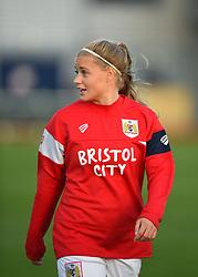 Olivia Fergusson of Bristol City Women - Mandatory by-line: Paul Knight/JMP - 28/10/2017 - FOOTBALL - Stoke Gifford Stadium - Bristol, England - Bristol City Women v Reading Women - FA Women's Super League