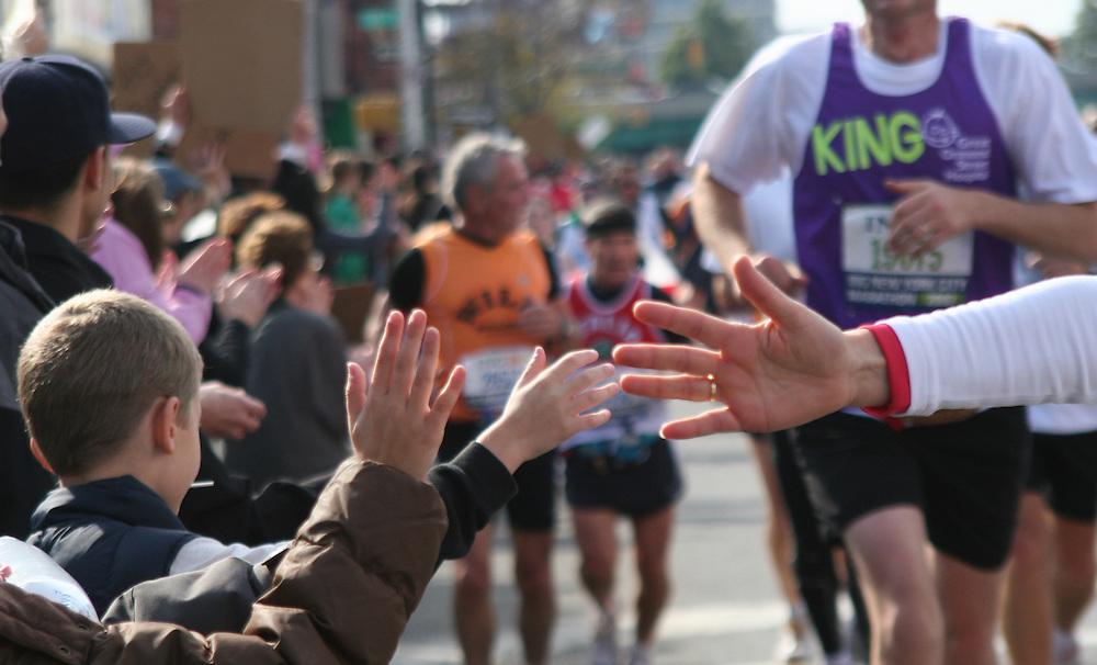 NYC Marathon, 2010.