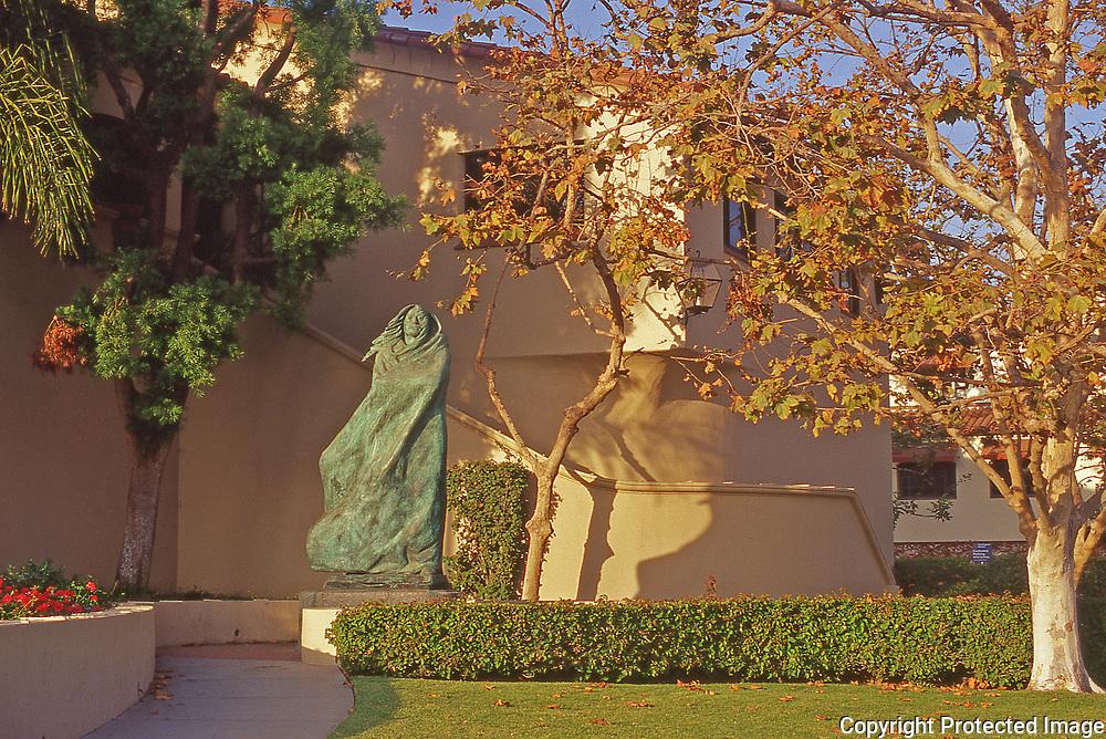 Santa Barbara State Street public sculpture.