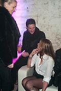 DAVID GARDNER; MELANIE BLATT; , Stephen Webster: 7 Deadly Sins And No Regrets - launch party, Old Vic Tunnels (formerly Leake Street Tunnel), Waterloo, London SE1, 8 December 2010. DO NOT ARCHIVE-© Copyright Photograph by Dafydd Jones. 248 Clapham Rd. London SW9 0PZ. Tel 0207 820 0771. www.dafjones.com.