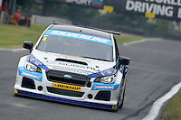 #4 Colin Turkington GBR Subaru Team BMR Subaru Levorg GT  during first practice for the BTCC Oulton Park 4th-5th June 2016 at Oulton Park, Little Budworth, Cheshire, United Kingdom. June 04 2016. World Copyright Peter Taylor/PSP.