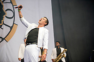 John Newman performs at the Glasgow Summer Sessions at Bellahouston Park on August 30, 2015 in Glasgow, Scotland. Photo by Ross Gilmore