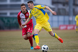 Denis Sme of NK Aluminij during football match between NK Domzale and NK Aluminij in Round #24 of Prva liga Telekom Slovenije 2017/18, on March 18, 2018 in Sports park Domzale, Domzale, Slovenia. Photo by Urban Urbanc / Sportida