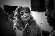Sao Paulo, SP, Brazil, 06/09/2007, 15h02: Brazilian actress Juliana Paes during a rehearsal day for a theatre play, The Producers.  (photo: Caio Guatelli)