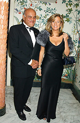 SIR MAGDI YACOUB and PRINCESS CHANTAL OF HANOVER at the Chain of Hope 10th Anniversary Ball held at The Dorchester, Park Lane, London on 1st November 2005.<br />
