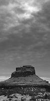 The Sun Dagger Site. Chaco Canyon, New Mexico - Winter Solstice, 12/21/2011.