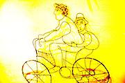 Bicycle Art at 30 Isabel la Católica