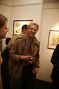 ALASTAIR GUY,. 'Art is Why I get up in the morning' Unseen pieces from Elizabeth Frink's studio and work by four contemporary British artists: Lin Jammet, amanda Cornish, Kitty Blandy and Olivia Lomench gill. Ryder St. gallery. London. 28 March 2006. ONE TIME USE ONLY - DO NOT ARCHIVE  © Copyright Photograph by Dafydd Jones 66 Stockwell Park Rd. London SW9 0DA Tel 020 7733 0108 www.dafjones.com