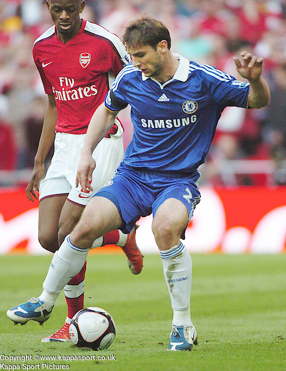 BRANISLAV IVANOVIC, CHELSEA, Arsenal v Chelsea, FA Cup Semi Final, Wembley Stadium, Saturday 18th April 2009