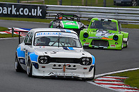 #5 Wayne Crabtree Ford Escort BDT (T) 1800 during the CSCC Special Saloons and Modsports at Oulton Park, Little Budworth, Cheshire, United Kingdom. October 15 2016. World Copyright Peter Taylor/PSP. <br /> Copy of publication required for printed pictures.  Every used picture is fee-liable. http://archive.petertaylor-photographic.co.uk
