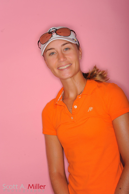 Megan McChrystal during a portrait session prior to the second stage of LPGA Qualifying School at the Plantation Golf and Country Club on Sept. 24, 2011 in Venice, FL...©2011 Scott A. Miller