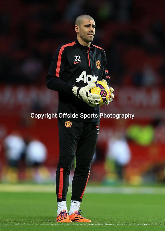 11th January 2015 - Barclays Premier League - Manchester United v Southampton - Man Utd goalkeeper Victor Valdes - Photo: Simon Stacpoole / Offside.