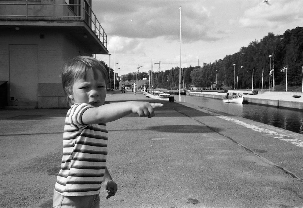 Södertälje sluss, farleden från Mälaren till Östersjön